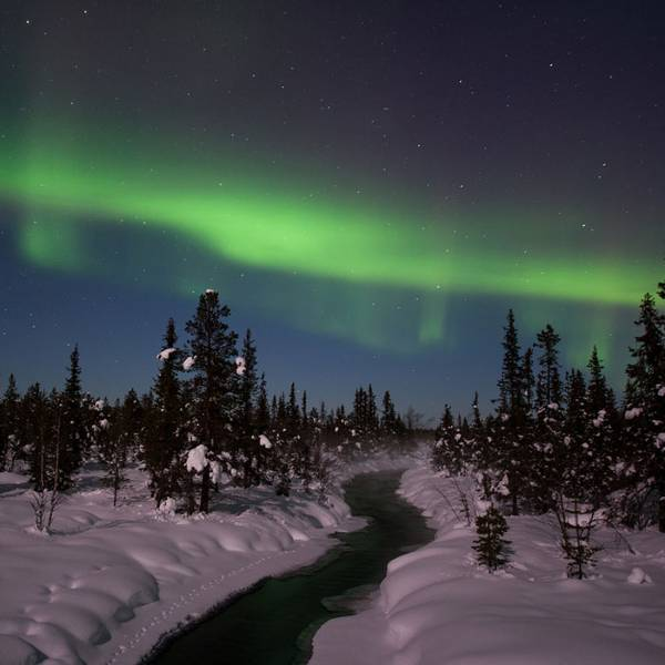 Northern Lights in Swedish Lapland | Sweden | OutsideOnline.com