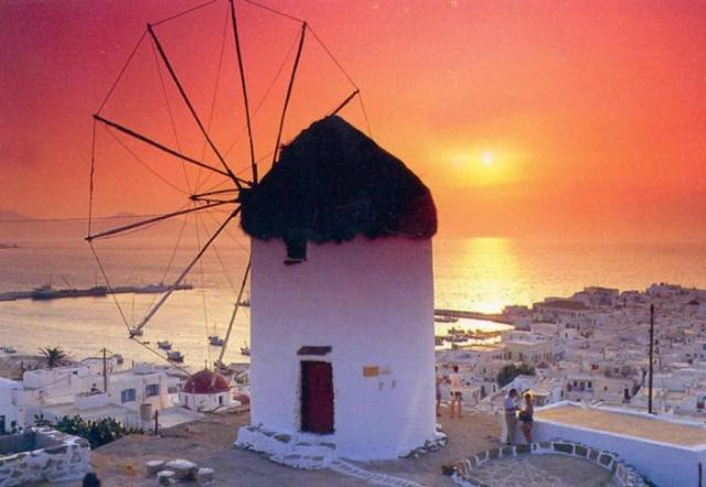 Mykonos, Cyclades, Aegean sea, Greece