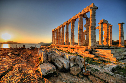 Temple of Poseidon, Attiki, Greece