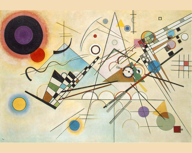 composition viii Wassily Kandinsky 1923 Oil on canvas Solomon R. Guggenheim Museum, New York 140 x 201 cm