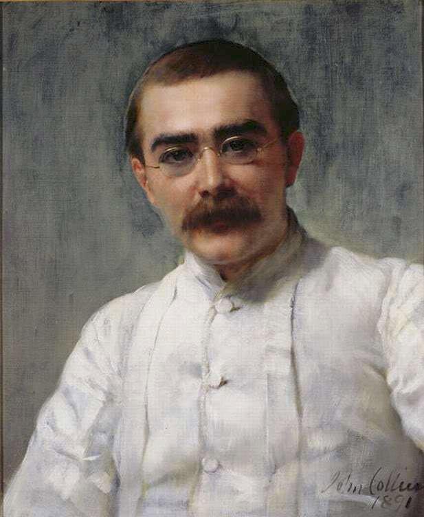 πίνακας του Collier 1891 rudyard-kipling