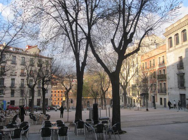 La Plaza de la Paja, in Madrid