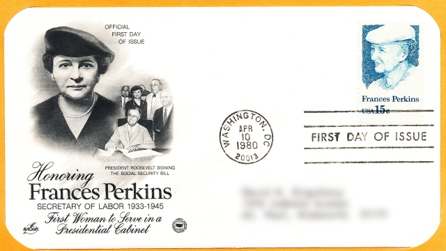 Frances Perkins - Franklin D Roosevelt