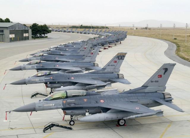 Τουρκικά F16