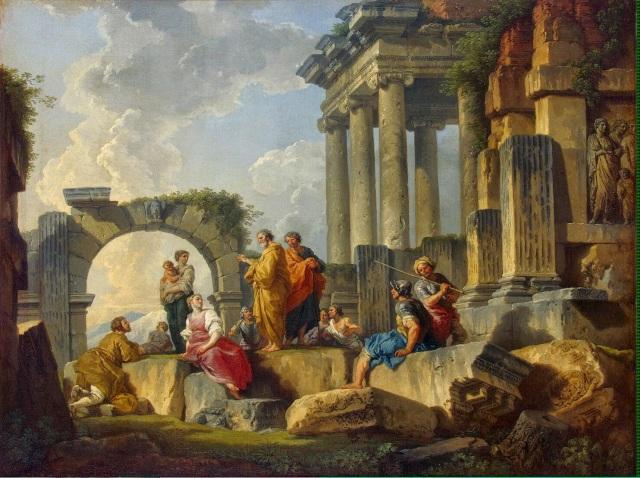 Panini_Giovanni-ZZZ-Sermon_of_St_Paul_amidst_the_Ruins